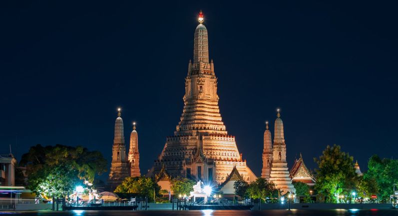 INTERNATIONAL CRAZY DEALS WONDERFUL BANGKOK PATTAYA 0000140  wat arun ratchawararam 005 thailand